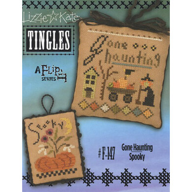 Lizzie Kate Gone Haunting - Spooky TINGLES Flip It Chart with Buttons - Leaflet