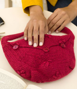 Picot Purse in Red Heart Eco-Ways Bamboo Wool - WR2066 - Downloadable PDF