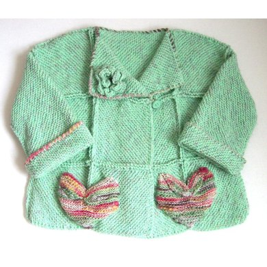 Knitting Patterns Summer Jackets : Summer Jacket (allsquareknits) Knitting pattern by Pat Watson Knitting Patt...