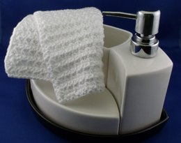 Asterisk Washcloth