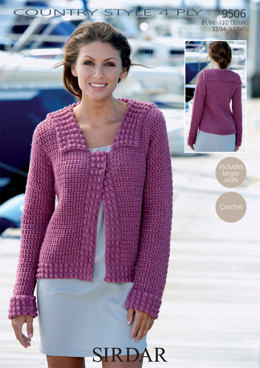 Jacket in Sirdar Country Style 4 Ply - 9506