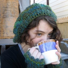 Cosy & Comfy Hat and Fingerless mittens