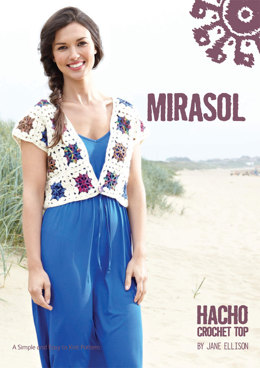 Hacho Crochet Top in Mirasol Tuhu