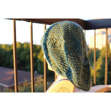Spring Trellis Slouch Hat