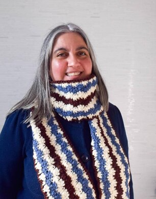 Chevron Shell Scarf
