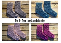 The Art Deco Lace Sock Collection E-Book