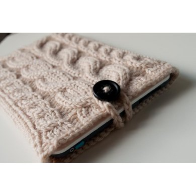 Kare Knits' Signature Cable Knit eReader/iPad Mini Case