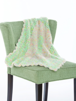 Marshmallow Fluff Blanket in Premier Yarns Gelato - Downloadable PDF