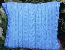 Trinity Cabled Pillow #2