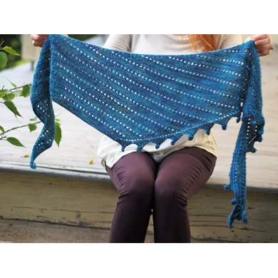 Mermaid Tail Scarf