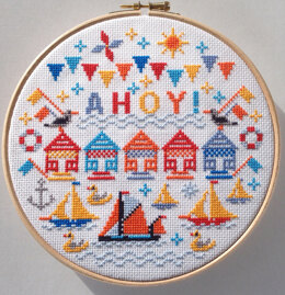 Riverdrift House Ahoy! (with hoop) - 23.3cm (8in)