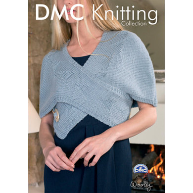 Wrap Over Top in DMC Woolly - 15138L/2