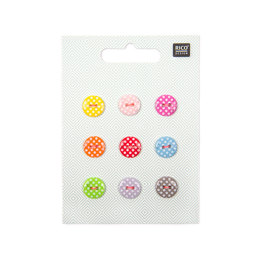 Rico Dots Button Mix - Small