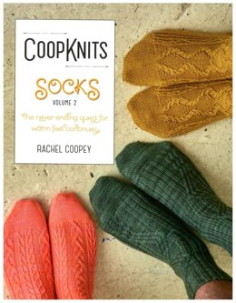 Coop Knits Socks Volume 2 by Rachel Coopey