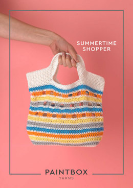 Summertime Shopper in Paintbox Yarns Cotton DK - Downloadable PDF