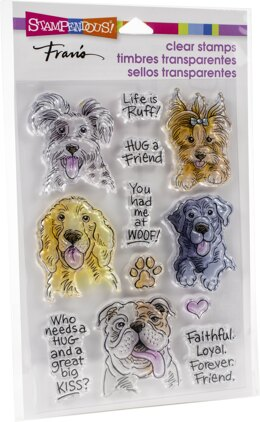 Stampendous Perfectly Clear Stamps - Dog Kisses