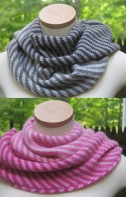 Endless Ombre Cowl in Jade Sapphire Mini Ombre Collection