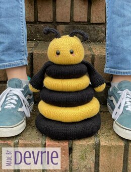 Bee Ring Stacking Toy
