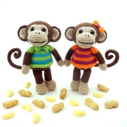 Mavis and Marvin Monkey
