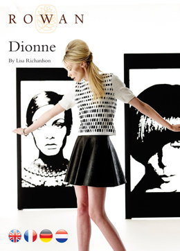 Dionne Sweater in Rowan Cotton Glace