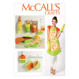 McCall's Apron and Kitchen Accessories M6978 - Paper Pattern Size All Sizes In One Envelope