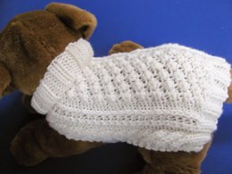 Celtic Doggie Garden Path Aran Sweater