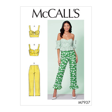 McCall's Misses' Tops and Pants M7937 - Sewing Pattern