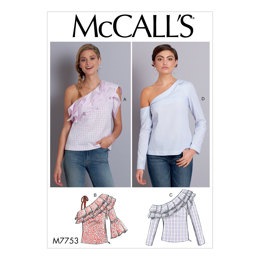 McCall's Misses' Tops M7753 - Sewing Pattern