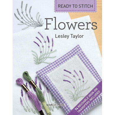 Search Press Ready to Stitch: Flowers - 1010235 -  Leaflet