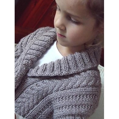 Childs Vest With Shawl Collar Knitting Pattern By Oge Knitwear