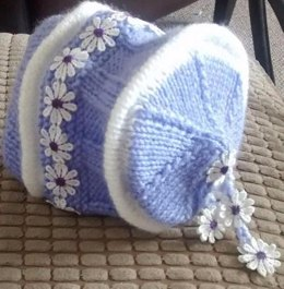 Nappy Cover with Matching Bonnet
