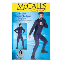 McCall's Men's Zippered Bodysuit by Yaya Han M7340 - Sewing Pattern