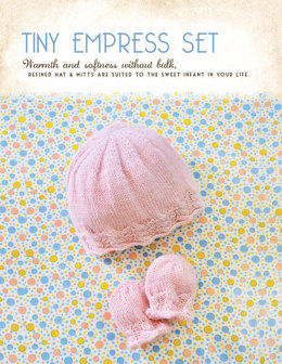 Tiny Empress Set in Blue Sky Fibers Royal Petites - 1252 - Downloadable PDF