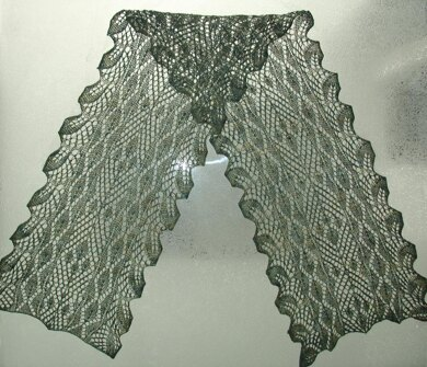 Thriving and Falling Leaves Scarf or Cowl