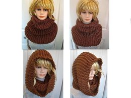 637 TOAST big winter cowl scarf wrap
