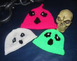 Free Baby Halloween Scream Beanies
