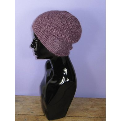 Double Moss (Seed) Stitch Slouch Hat