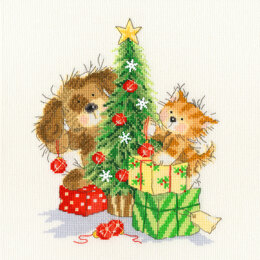 Bothy Threads Decorating The Tree Cross Stitch Kit