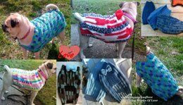 Dog Sweater E-Book All 8 Sizes