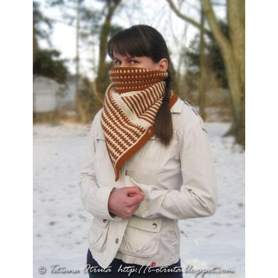 Geometric Illusion Cowl / Scarf