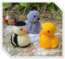 Ducklings & Cygnet - Creme Egg Covers