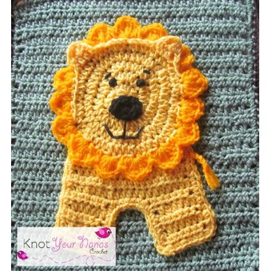 Lion Applique