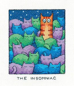 Heritage The Insomniac Cross Stitch Kit