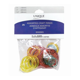 Unique Color Craft Rings Assortment 25