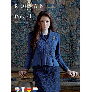 Purcell Jacket Rowan Wool Cotton 4 Ply