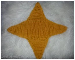 Aruba Star Crochet Applique Pattern Unique & Unusual