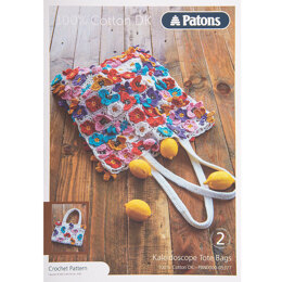Bags in Patons 100% Cotton DK - Leaflet