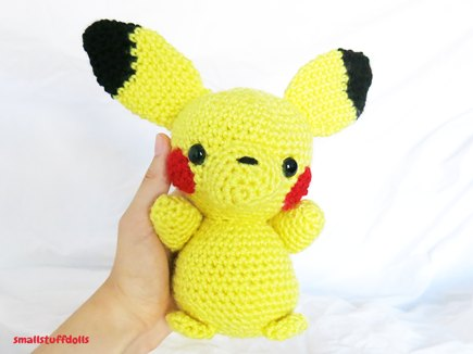 Amigurumi Big Heart : Big Pikachu Amigurumi crochet project by Theresa M ...