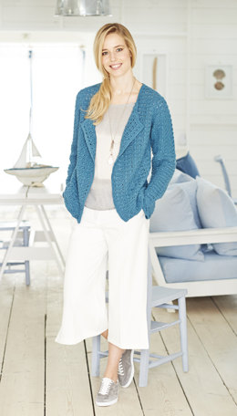 Cardigan & Vest in Stylecraft Classique Cotton DK - 50g - 9378