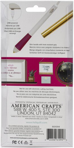 We R Memory Keepers Foil Quill Freestyle Pen - Caligraphy Tip